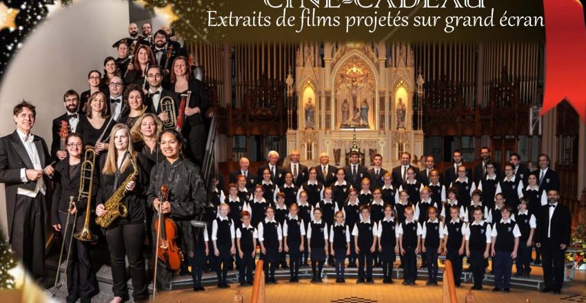 Concert de Noël Ciné-cadeau 20 et 21 décembre 14h30