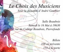 Le Choix des Musiciens – Mai 2015