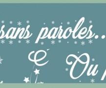 Noël sans paroles… ou presque – Décembre 2016